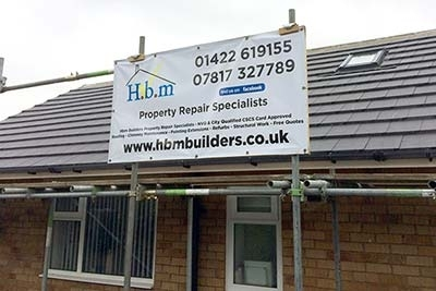 Re-Roof by H.b.m Builders in Halifax
