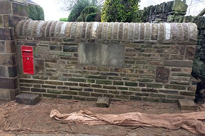 Stone Wall Built in Halifax