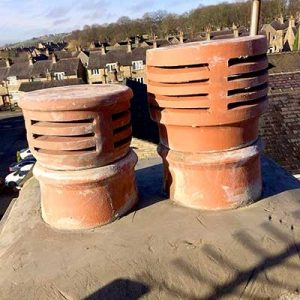 A Chimney Repaired in Huddersfield