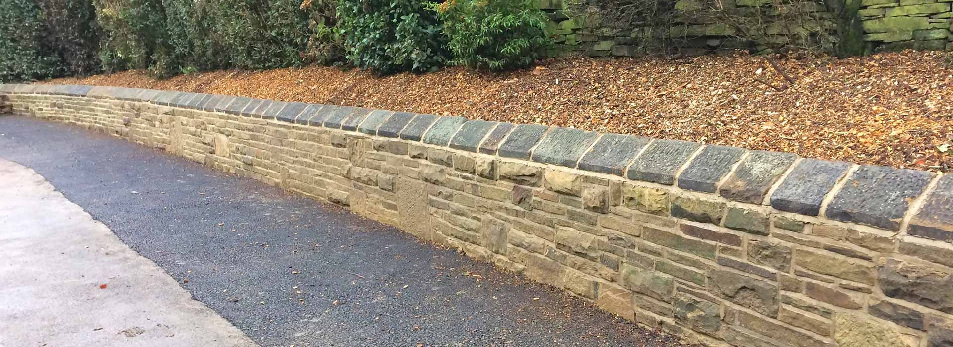 Large Brick Wall Built in Halifax