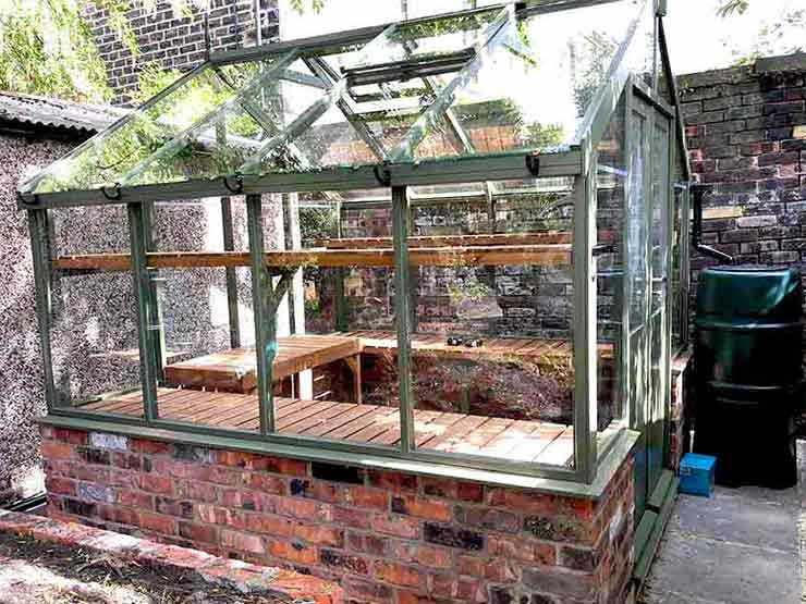New Greenhouse Completed