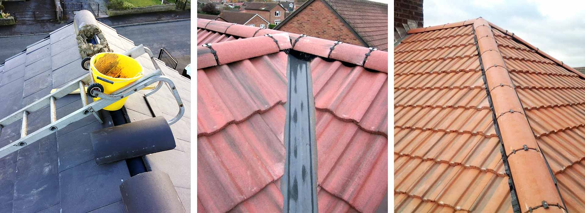 Roof Ridges Repaired in Halifax