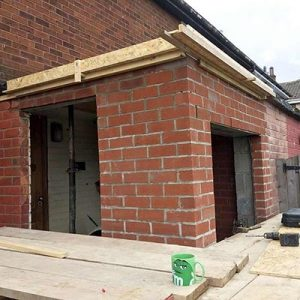 Single story building extension in Illingworth