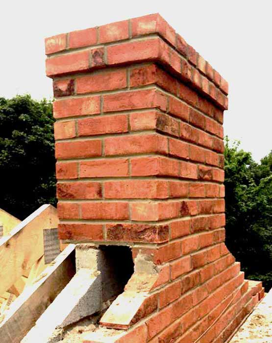 Chimney Built by Roofers in Halifax