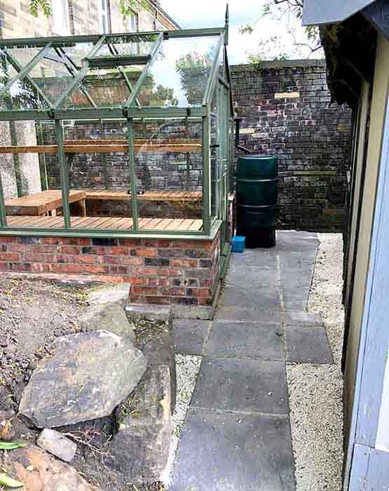 Greenhouse with Path