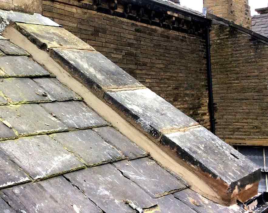 Stonework on Halifax Roof Repair